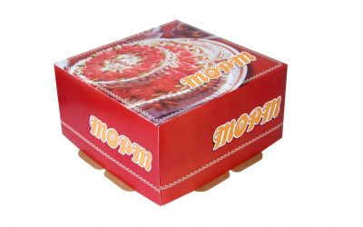 Продукция комбината Покровский - Упаковка для торта