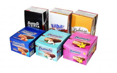 Продукция комбината Покровский - Упаковка для кондитерских изделий и тортов