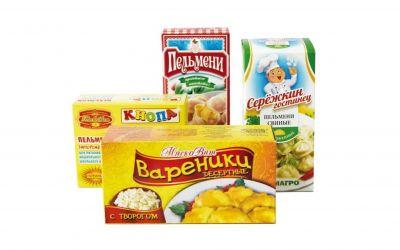 Продукция комбината Покровский - Упаковка для пельменей и вареников