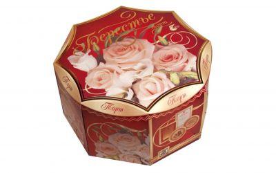 Продукция комбината Покровский - Упаковка для торта Берестье