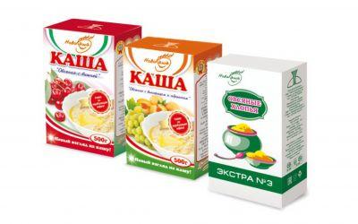 Продукция комбината Покровский - Упаковка для каш