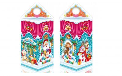 Продукция комбината Покровский - Новогодний баул «Замок снегурочки» 0,5 кг