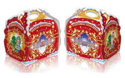 Продукция комбината Покровский - Новогодний баул «Новогодняя ночь» 1,2 кг